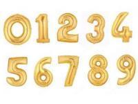 Шары цифры