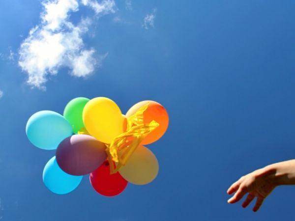 Время полета шариков