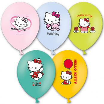 "Шары латекс ""Hello Kitty"""