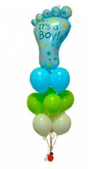 """Фонтан из шаров Это Мальчик"""""""