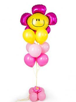 Фонтан из шариков Цветик