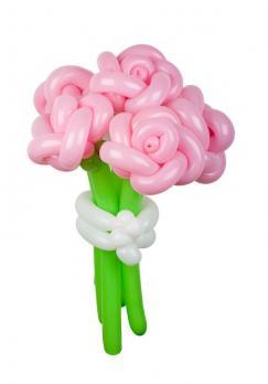 """Цветы из шаров """"Розы"""""""