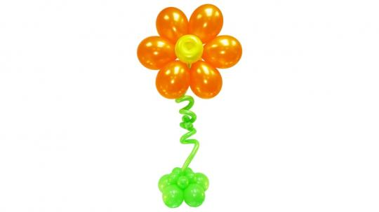 """Цветок гигант из шаров """"Колосс"""""""