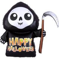 "Шарик фигура ""Happy Halloween Смерть"""