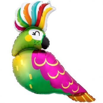 """Шар фигура """"Тропический попугай"""""""