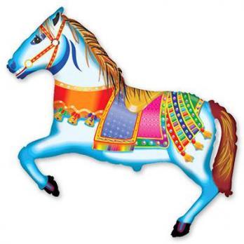 """Шар на палочке """"Лошадь цирковая"""""""