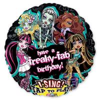 Шар музыкальный Monster High