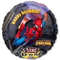 Шар музыкальный Человек паук