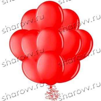 Шары латекс Красный