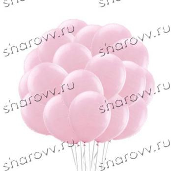 """Шары латекс """"Розовый"""""""