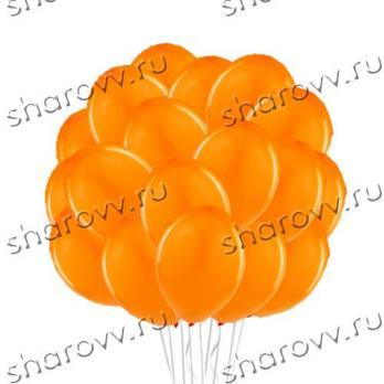 """Шары латекс 35см. """"Оранжевый"""""""