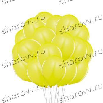Шары латекс 35см. Желтый