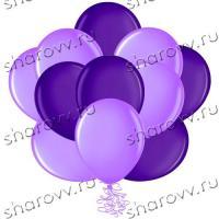 Шары латекс 35см. Сиреневый, фиолетовый