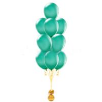 Фонтан из шаров Зеленый