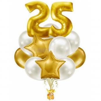 Букет воздушных шаров Дата