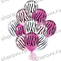 Розовая зебра