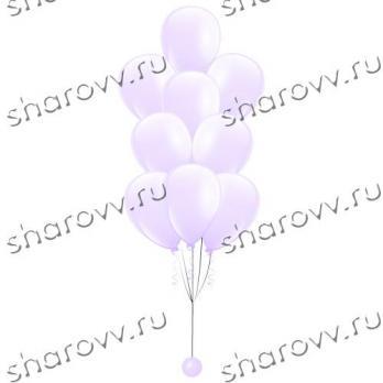 """Фонтан из шаров """"Белый"""""""