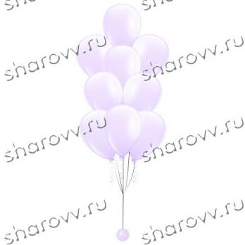 """Фонтан из шаров Белый"""""""