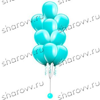 Фонтан из шаров Бирюзовый