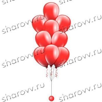 """Фонтан из шаров """"Красный"""""""
