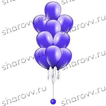 """Фонтан из шаров """"Синий"""""""