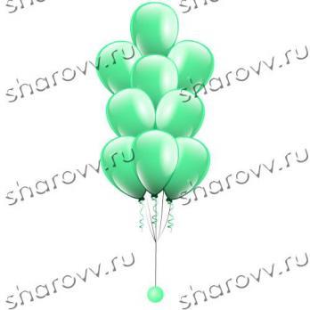 """Фонтан из шаров """"Зеленый"""""""