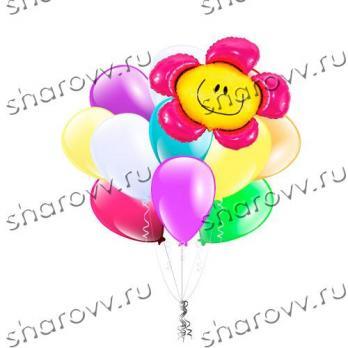 Букет шаров Цветочек