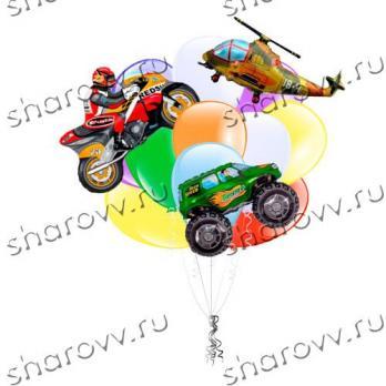 Букет из шаров Пацанский