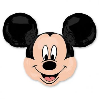 Шар фольгированный Микки Маус голова