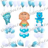 Оформление шарами Для мальчика