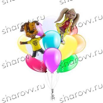 Букет из шаров Барбоскины