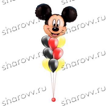 Фонтан из шариков Микки