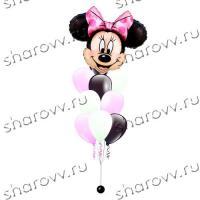 Фонтан из шариков Минни