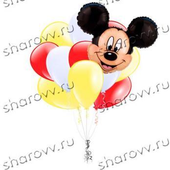 """Букет из шаров """"Привет от Микки"""""""