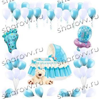 Оформление воздушными шарами Комната малыша