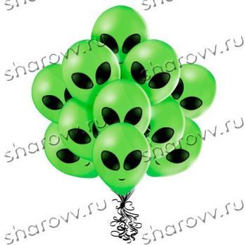 Воздушные шары инопланетянин
