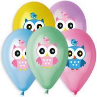 Воздушные шары с гелием Совы