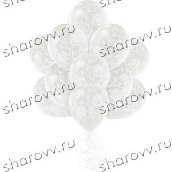 Шары латекс Розы