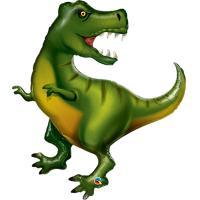 Шар фигура фольга Динозавр Тираннозавр