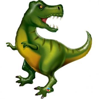 """Шар фигура фольга Динозавр Тираннозавр"""""""