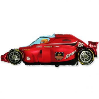 Шар фигура фольга Машина красная