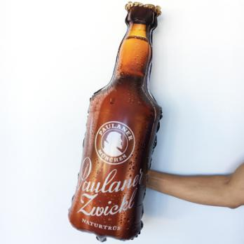Шар фигура фольга Бутылка Пива
