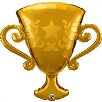 Шар фигура фольга Кубок