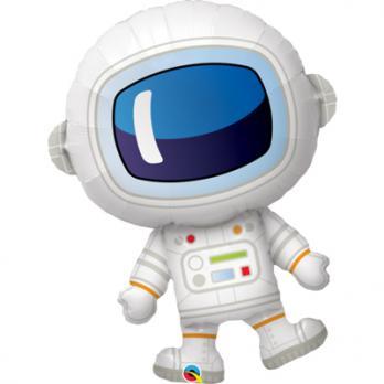 Шар фигура фольга Космонавт