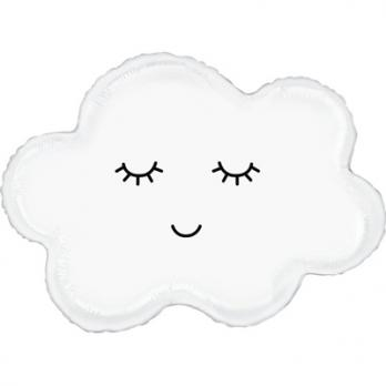 "Шар фигура фольга ""Облако спящее"""