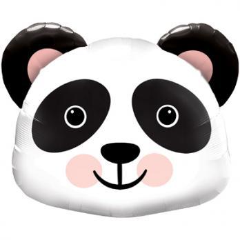"""Шар фигура фольга """"Панда голова"""""""
