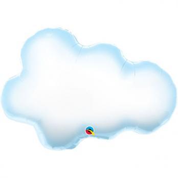 """Шар фигура фольга """"Облако"""""""