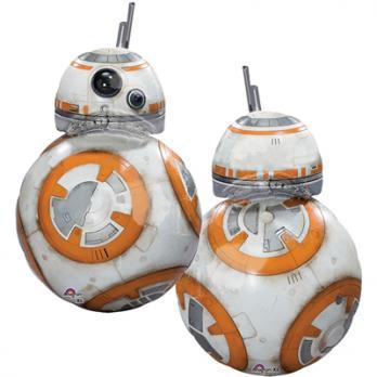 """Шар фигура фольга """"Звездные Войны Дроид BB-8"""""""