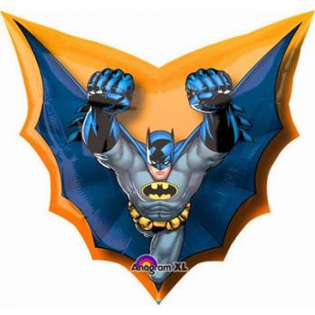 "Шар фигура фольга ""Бэтмен в полете"""