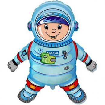 Шар фигура фольга Астронавт